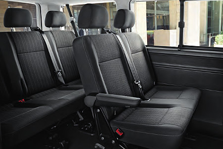 volkswagen minibus multivan and caravelle transfers for. Black Bedroom Furniture Sets. Home Design Ideas